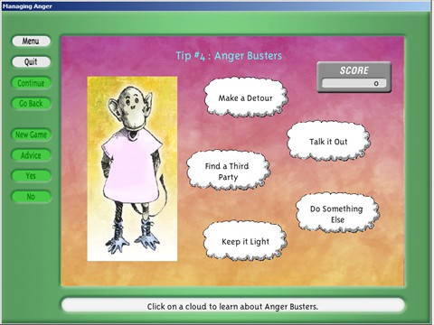 Anger Busters - Example Screen 2