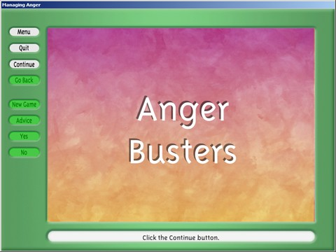 Anger Busters Activity - Tips and strategies to  manage situations involving anger.